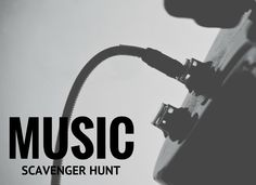 Our Music Scavenger Hunt is sure to get your group moving! #stumin #youthministry #scavengerhunt #music