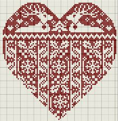 gazette94: COEUR HIVER - lots of beautiful pictures of cross stitch work and patterns on this site.