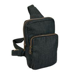 Pánská černá taška NARAYA crossbody přes rameno NNBDN588dn1n101