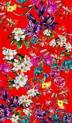 Print design for a Bazilian fashion brand Más