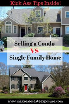 Selling a condo VS selling a  home can be very different! See some of the best tips for selling each of these housing types. http://www.maxrealestateexposure.com/selling-condo-vs-selling-home/