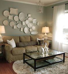 Naturally Beautiful style sitting area