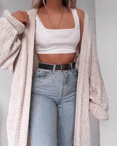 Fashion Outfits & Street Style Looks For Summer, Summer Outfits, Join to me, if you like fashionable ideas of Cute Casual Outfits, Outfits For Teens, Fall Outfits, Summer Outfits, Really Cute Outfits, Casual School Outfits, Crop Top Outfits, Basic Outfits, Dope Outfits