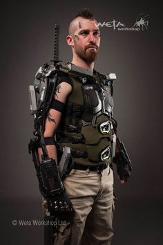 Weta Workshop Elysium Costume