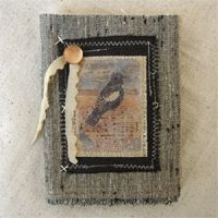 Becky Shander - collage, jewelry, fiber art