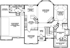 Stately Design With Lots of Glass - 4059DB | European, French Country, Photo Gallery, 1st Floor Master Suite, Bonus Room, CAD Available, PDF, Corner Lot | Architectural Designs (make bonus in attic area)