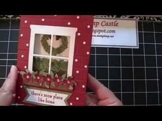 Stampin' Up! Hearth & Home Framelit Dies Tip - YouTube