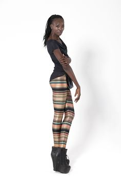 S Nairobi Leggings- I bought the bodysuit because it was being retired and Nairobi fabric was one of the first fabrics jL ever used. I was blown away by how beautiful the bodysuit is in person, the fabric is amazing and so classy. Now I'm obsessed and must have them all @__@. Slowly...one..by...one...