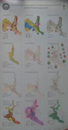 Bayburt Kenti Sentezleri Young Teacher Outfits, Winter Teacher Outfits, Site Analysis, Master Plan, Urban Planning, Urban Design, Map, How To Plan, City