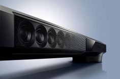 Tv Sound Bar - An audio bar is a wonderful way to enhance what you hear when you watch TV without the intricacy of (or dis Best Speakers, Surround Sound Systems, Home Tv, Audio System, Bars For Home, Home Theater, Yamaha, To Go, Sound Bars