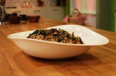 Ardanın mutfağı: patlıcanlı pilav