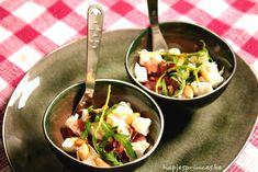 Hapje met verse vijgen, ham en buffelmozzarella - Hapjes Princess ! Pureed Food Recipes, Healthy Recipes, Healthy Food, Appetizers For Party, Tapas, Love Food, Potato Salad, Foodies, Lunch