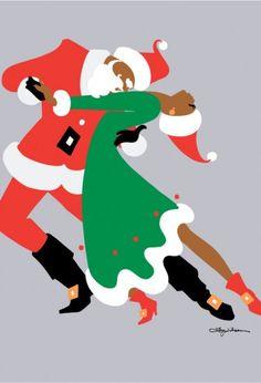 Ty Wilson black-santa-tango