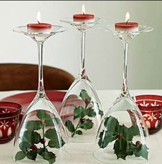 Cool CHRISTMAS candle holders