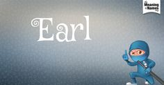 Name poster for Earl
