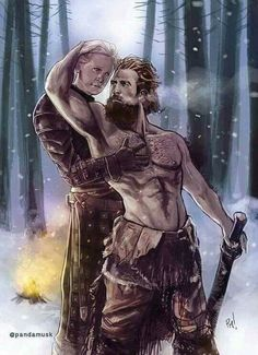 I want a ginger that loves me like Tormund loves Brienne.
