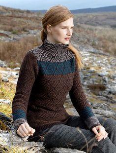 Aran Sweater Market - the home of Irish Aran sweaters. The Aran Sweater, also known as a Fisherman Irish Sweater, the famous original since quality authentic Aran sweater & Irish sweaters from the Aran Islands, Ireland. Irish Fashion, Scottish Fashion, Women's Fashion, Gamine Style, Sweaters For Women, Irish Sweaters, Aran Sweaters, Sweater Making, Knitwear