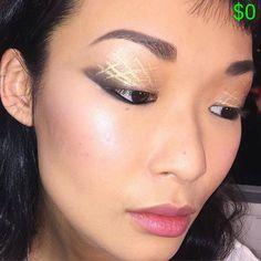 Pin for Later: How 1 MAC Makeup Artist Created the Edgiest, Smokiest Cat Eye at NYFW