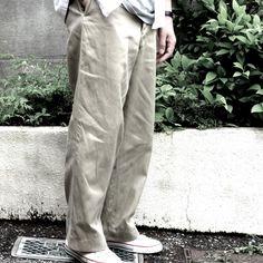 Vintage Chino Pants | RUMHOLE beruf - Online Store