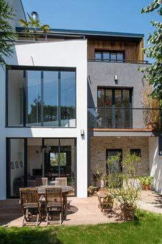 Extension & Réhabilitation d'une maison de ville - Projet O - contemporary - Exterior - Other Metro - AAACSC
