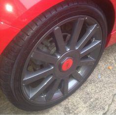 Anthracite wheels
