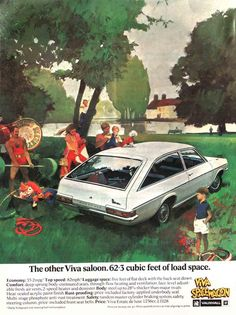 Vauxhall Viva Vauxhall Motors, Car Advertising, Old Ads, Commercial Vehicle, Car Brands, Vintage Cars, Classic Cars, Old Things, Vehicles