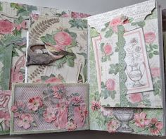 Hi everyone :-)   Made another Botanical Tea photo album and this was a challenge from my friend Linda at Livartnow. She made the base for ...