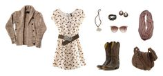"""Country - Fallen For You"" by brublue ❤ liked on Polyvore"