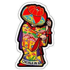 Gotochi card. Okinawa,JAPAN