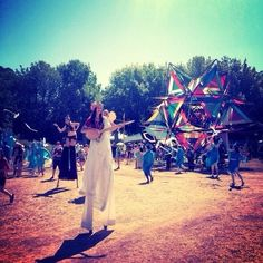 Face paint. Stilts. Hemp jewelry. Loincloths. You wait all year to take your clothes off and pretend you are fairies with your friends at The Oregon Country Fair. | 29 Ways You Know You're From Oregon