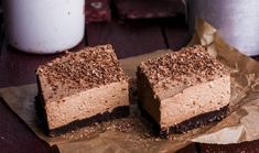 These chocolate mousse brownies are so creamy, chocolatey, and dense! If you are a fan of chocolate then these decadent bars are perfect for you! Brownies can be quite boring but combined with a … Tim Tam Cheesecake, No Bake Nutella Cheesecake, Lemon Cheesecake, Chocolate Cheesecake, Chocolate Mousse Brownies Recipe, Chocolate Slice, Hot Chocolate, Brownie Recipes, Dessert Recipes