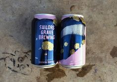 Sailors Grave Brewing, Southern Right Ale - illustration by Joe Lyward