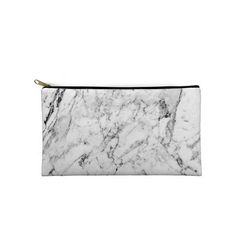 marble zippered etui pouch case that can be used as make-up bag, coin purse…