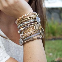 ALEX AND ANI DEPTHS OF THE WILD AND RULERS OF THE WOODS BANGLES AND WRAPS!