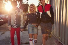 Anwar Hadid, Sofia Richie and Lucky Blue Smith front Tommy Hilfiger Denim's spring-summer 2017 campaign