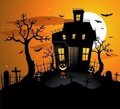 <b>Haunted</b> <b>House</b> Silhouette <b>Clip</b> <b>Art</b> <b>Haunted</b> <b>house</b> clipart