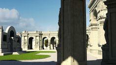 Immagine inedita del Monumento a Giuseppe Verdi #3D #artsdigital