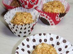 Receita de Crispies de caramelo Muffin, Breakfast, Egg As Food, Recipes, The World, Ideas, Toffee, Muffins, Cupcake