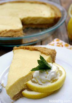 Creamy Lemon Pie Overload from NoblePig.com