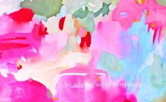 Abstract watercolor 'Equinox Rising' 11x14 NEW print. $37.50, via Etsy.... and driftwoodinteriors Kerri Shipp