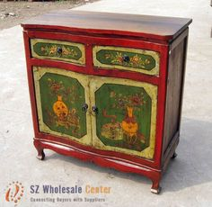 love this painted chest