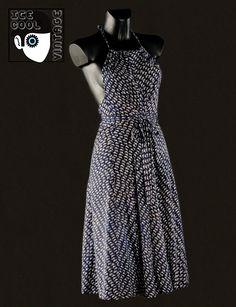 80s 'Lanvin - Paris' sun dress.
