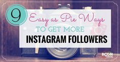 This post will give you 9 new ways to jumpstart your Instagram efforts and get more Instagram followers …fast!