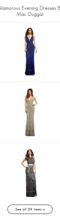 """""""Glamorous Evening Dresses By Mac Duggal"""" by edressme ❤ liked on Polyvore featuring dresses and gowns"""