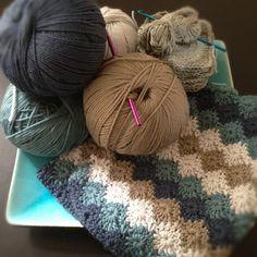 Harlequin Stitch Blanket: free pattern