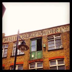 Iphone App, Camden, Signage, Advertising, British, Typography, England, Victorian, London