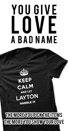 Keep Calm and Let LAYTON handle it