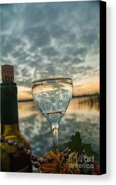 Still Life | Wine | Sunset | Reflection