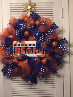 NFL Jerseys Online - 1000+ ideas about Chicago Bears Wreath on Pinterest | Wreaths ...