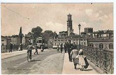d3530   Cartolina  Verona  Ponte Umberto  anno 1918